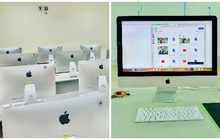 """Trường ĐH """"chơi hệ iMac"""", đầu tư 2 tỷ đồng tậu dàn máy Apple láng bóng, ngó qua đã phát mê!"""