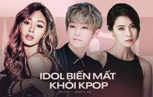 """Sắp chạm đến đỉnh vinh quang của sự nghiệp lại đột ngột """"từ giã"""" ngành giải trí, 5 idol Kpop khiến fan tiếc nuối"""
