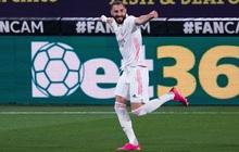 """Vượt qua """"mớ bòng bong"""" Super League, Real Madrid thắng đậm để vươn lên ngôi đầu La Liga"""