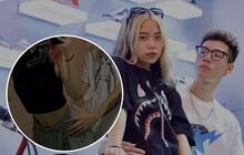 """Tlinh và MCK lại tạo dáng khiến người xem đỏ mặt, netizen ý kiến: """"Bậy quá rồi nha 2 bạn, thấy bớt vui"""""""
