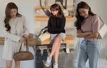Các nàng tham khảo ngay 5 mẫu túi mà gái Hàn đang mê mẩn nếu không dịp lễ này lại không có túi đẹp mà đeo!