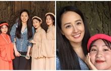 Lớp học may mắn nhất: Đang chụp ảnh kỷ yếu thì Mai Phương Thuý đi ngang qua và thế là có ảnh với hoa hậu