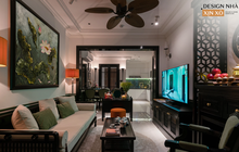 Ra ở riêng, vợ chồng 9x thiết kế căn hộ đậm chất Huế với chi phí hơn 1 tỷ đồng, KTS chia sẻ câu chuyện hiểu lầm suýt phải dừng thi công
