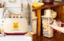 """Điểm danh các món đồ bếp gấu Pooh cực xinh khiến chị em rung rinh muốn """"chốt đơn"""" liền"""