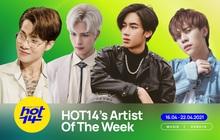 Jack vẫn không có đối thủ tại HOT14's Artist Of The Week, Denis Đặng bất ngờ debut, xếp hạng mấy?