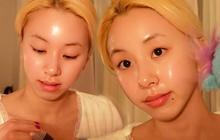 Dân tình phát hờn với làn da căng bóng level max của Chaeyoung, bí kíp nằm ở 3 món skincare siêu dễ mua
