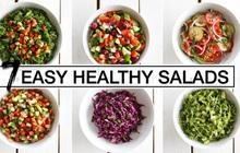 Hướng dẫn cách làm salad giảm cân giúp bạn lấy lại vóc dáng thon gọn