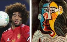 """Danh thủ sân cỏ """"hiện thân"""" trong các bức họa nổi tiếng: Gương mặt """"xộc xệch"""" của sao MU chiếm spotlight"""