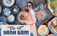 """Để ý những bức hình khoe đồ ăn của Hà Tăng mới thấy: """"Yêu nữ"""" sành đồ gốm đích thị là đây!"""