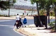 Bị phạt nguội tiền triệu vì xả rác ngay cạnh... thùng rác