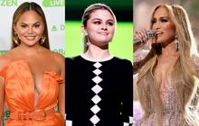 """Selena Gomez """"dừ chát"""" dù là host chủ trì, bị Jennifer Lopez bốc lửa hơn 23 tuổi và dàn sao chặt đẹp ở sự kiện khủng"""