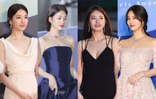 Nữ thần Baeksang gọi tên Suzy: 5 năm làm host rung chuyển xứ Hàn vì visual tuyệt mỹ, đỉnh nhất lần hở bạo và xén tóc ngắn cũn