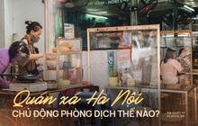 Ảnh: Hàng loạt quán xá ở Hà Nội tự giác đặt tấm chắn trong đợt dịch Covid-19 thứ 4, tinh thần chủ động chống dịch đã cao hơn nhiều