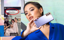 """Hết Châu Bùi, đến lượt """"Cô em Trendy"""" Khánh Linh bị """"bóc phốt"""" làm KOL kém chuyên, dùng iPhone đăng story quảng cáo Samsung"""