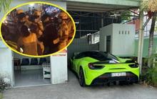 TP.HCM: Thanh niên chạy siêu xe Ferrari 488 GTB giá hơn 10 tỉ đồng không biển số, lăng mạ CSGT khi bị kiểm tra