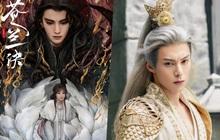 """Vương Hạc Đệ """"bái bai"""" tóc trắng, Ngu Thư Hân bé tí xíu làm fan soi đỏ mắt ở loạt poster Thương Lan Quyết"""