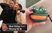 Tóc Tiên khiến fan cười xỉu khi mua vỏ AirPods mặt ếch vì thấy giống chồng, thích thì bạn sắm được chiếc y chang