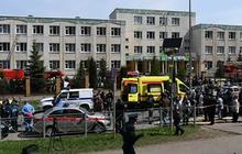 Nổ lớn, xả súng ở trường học Nga, gần 20 người thương vong