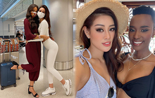 """Khánh Vân ngày càng sexy, lên đồ bốc lửa """"xinh xỉu"""" và có phần lấn át các thí sinh Miss Universe"""
