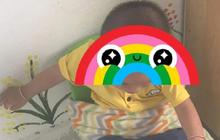 Cô giáo mầm non lấy chăn buộc trẻ vào ghế từ sáng đến trưa mặc bé gào khóc cầu cứu, nguyên nhân khiến nhiều phụ huynh bức xúc
