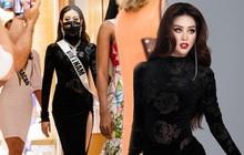 Khánh Vân bất ngờ ghi điểm tuyệt đối với bộ cánh gây tranh cãi, visual nổi bần bật giữa rừng mỹ nhân Miss Universe
