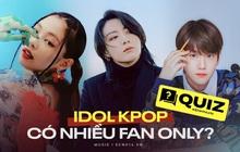 """BTS, BLACKPINK hay EXO đều có thành viên sở hữu fan only khủng, lý do """"hút fan"""" là gì?"""