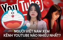 Bảng xếp hạng các kênh YouTube được người Việt xem nhiều nhất đầu năm 2021, bất ngờ về vị trí của Thơ Nguyễn