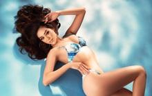 Khánh Vân tung bộ hình bikini khoe trọn 3 vòng bốc lửa trước thềm Bán kết Miss Universe 2020