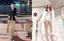 Đi vào vết xe đổ của Hà Hồ, Lệ Quyên diện sandals Chanel mất điểm hình ảnh chỉ vì chi tiết này