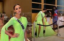 Sự tình đằng sau drama ở Miss Universe: Hoa hậu Thái Lan bị đối thủ đạp rách váy, gây tranh cãi vì thái độ của cả hai