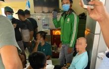 Tạm giữ Phường đội phó phường 11, quận 3 cùng 5 đối tượng trong sòng bạc khủng ở Sài Gòn