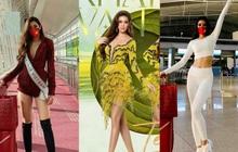 Hoa hậu Khánh Vân có 1 loạt giày dép diện vào là như thắp sáng cả set đồ, chị em không tìm mua thì hơi bị phí!
