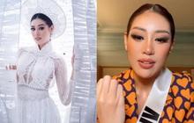 Toả sáng sau đêm thi trang phục dân tộc, Khánh Vân livestream 30 giây hút hơn 17.000 người xem trực tiếp