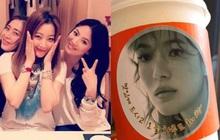 """Song Hye Kyo nhận xe cà phê ủng hộ từ mỹ nhân công khai """"dìm hàng"""" nhan sắc mình, cớ sao vẫn vui vẻ thế này?"""