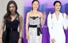 Loạt người đẹp sửa váy tại thảm đỏ Baeksang 2021: Suzy làm xấu cả váy gốc, các mỹ nhân khác biến tấu thế nào?