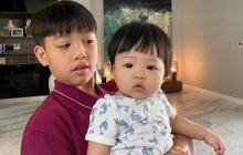 Cường Đô La khoe ảnh siêu cưng của 2 nhóc tỳ hot nhất nhì Vbiz, tiết lộ luôn 1 điểm giống hệt nhau của Subeo và Suchin