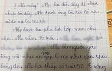 """Bài văn tả mẹ đọc xong chỉ muốn """"đánh đòn"""": Mẹ chậm thật, mụn chi chít, câu cuối """"quay xe"""" 180 độ siêu lầy"""
