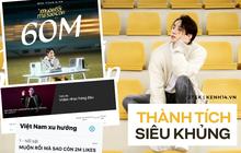 Sơn Tùng M-TP lại leo lên Top 1 trending tại Việt Nam cùng một loạt thành tích khủng với Muộn Rồi Mà Sao Còn