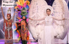Công bố Top 10 trang phục dân tộc đẹp nhất Miss Universe theo Missosology, Kén Em của Khánh Vân liệu có làm nên chuyện?