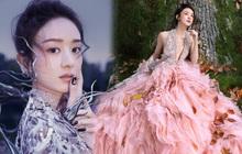 Quên ngay bộ ảnh vô hồn chụp với đàn chị đi, đây mới là loạt khung hình đẹp thần sầu của Triệu Lệ Dĩnh khiến Weibo nức nở
