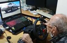 """Game thủ Nhật Bản phá đảo """"đường đua ảo"""" ở tuổi 93"""