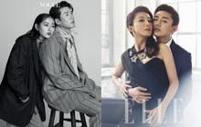 """Top ảnh tạp chí đôi đẹp nhất xứ Hàn: Sốc nặng """"bàn tay hư"""" Yoo Ah In đặt lên body bà cả Thế Giới Hôn Nhân, Hyun Bin - Son Ye Jin đúng huyền thoại"""