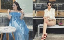 Không lên đồ kiểu phu nhân nhà siêu giàu, style Á hậu Tú Anh dạo này rất trẻ xinh nhờ loạt cách mix đơn giản