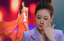 Cả hành trình mạnh mẽ nhưng Khánh Vân lại bật khóc sau đêm Bán kết Miss Universe, lý do khiến ai cũng xúc động