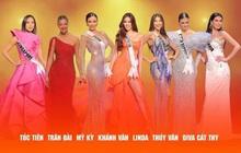 Có thể bạn chưa biết: Tóc Tiên, Thúy Vân, Lương Mỹ Kỳ... cũng đi thi Miss Universe với Khánh Vân ở Mỹ!
