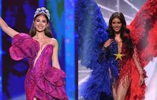 Hoa hậu Philippines dính lùm xùm ở Miss Universe: Quốc phục bị chê sau khi NTK qua đời, HHHV 2018 đồng hương nhưng không ủng hộ