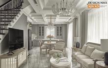 """Chán chung cư, mẹ Hà Nội chi 2,5 tỷ sửa nhà Vinhomes, """"đo ni đóng giày"""" nội thất theo phong cách Traditional chất như phim Mỹ"""