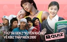 """Triệu hồi Gen Z """"xuyên không"""" về Kbiz thập niên 2000, chắc 70% không trả lời được về Song Hye Kyo, BIGBANG, Vườn Sao Băng..."""