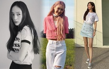Sao Hàn diện đồ Zara từ street style lên sàn diễn: Xinh nhất là áo phông chỉ hơn 200k của Krystal