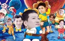 Fan Running Man Việt thi chế meme style anime cưng muốn xỉu: Doraemon, Naruto, One Piece đều có đủ!